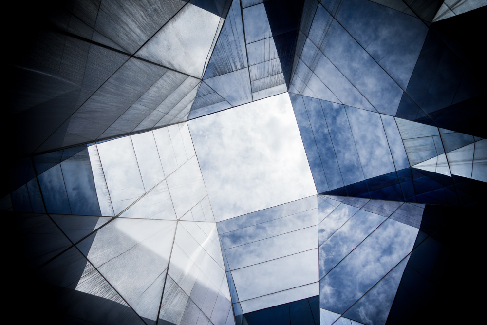 An abstract building/structure